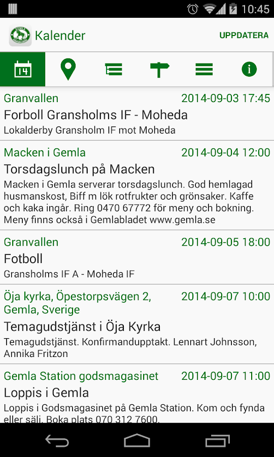 Gemla- screenshot
