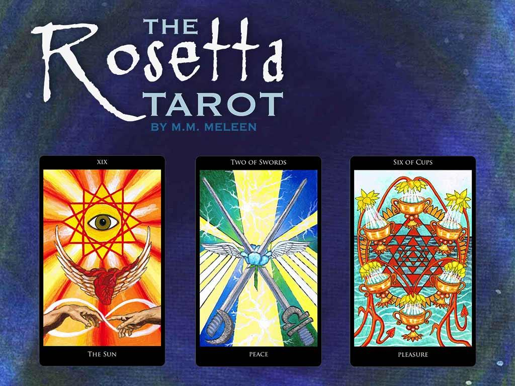 Rosetta Tarot- screenshot