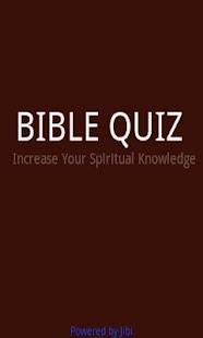 Bible Quiz Game
