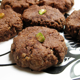 Chocolate Hazelnut Cookies.