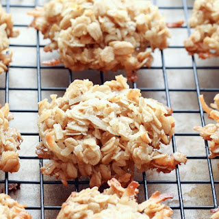 Coconut Lover's Oatmeal Cookies.