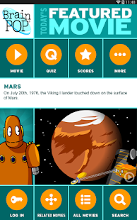 BrainPOP Featured Movie- screenshot thumbnail