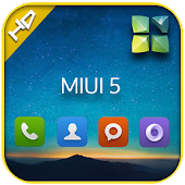 Miui 5 next launcher theme