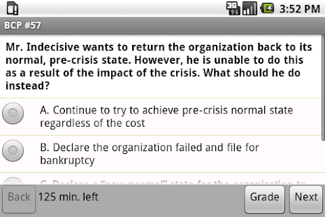 Business Continuity Exam Prep- screenshot thumbnail