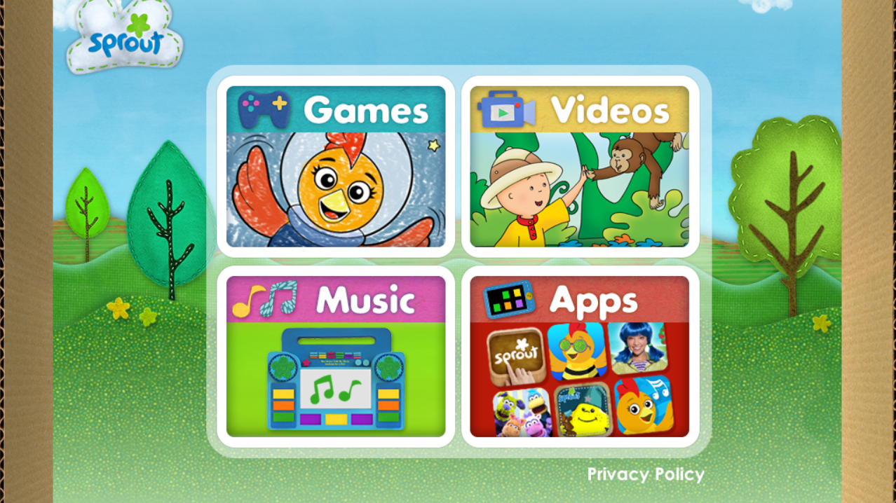 Sprout Games & Videos - screenshot