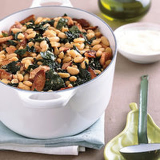 White Bean, Sausage and Kale Stew.