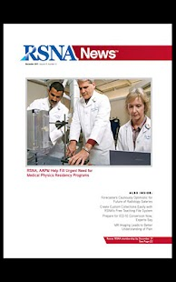 RSNA News - screenshot thumbnail