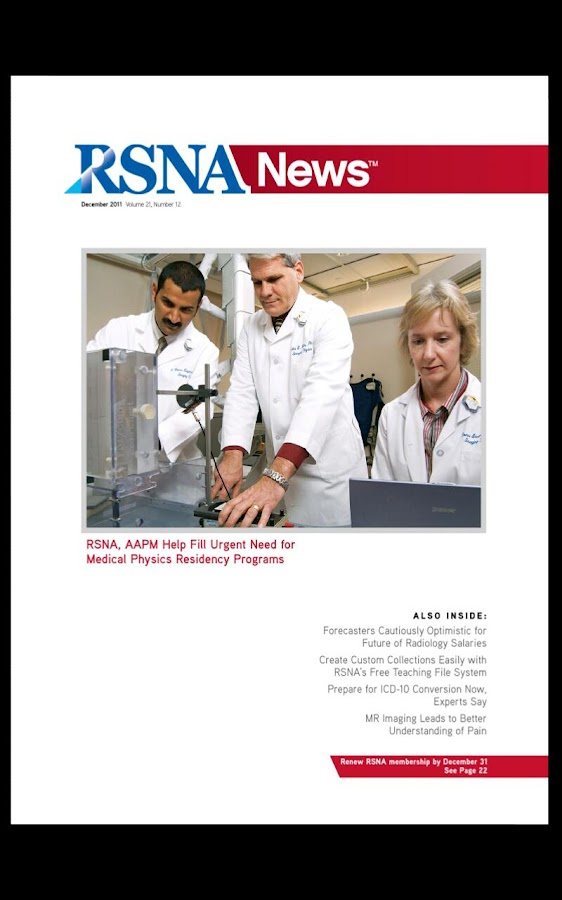 RSNA News - screenshot