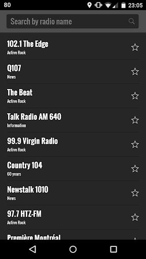 ラジオ FM カナダ
