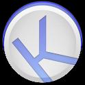 Kuroi Blue - EvolveSMS Theme icon