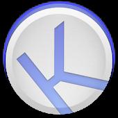 Kuroi Blue - EvolveSMS Theme