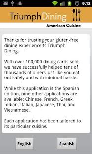 Gluten Free American- screenshot thumbnail