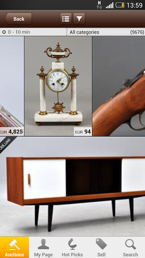 Lauritz.com – Online Auctions- screenshot