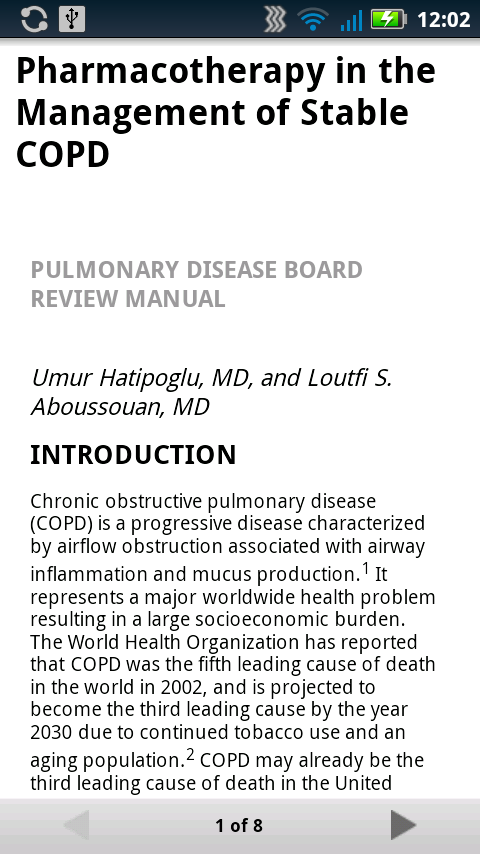 Pulmonary Board Review - screenshot