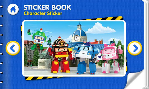 【免費教育App】Robocar Poli - Sticker Book 1-APP點子