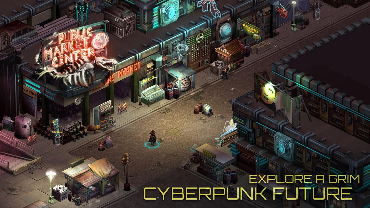 Shadowrun Returns: captura de tela