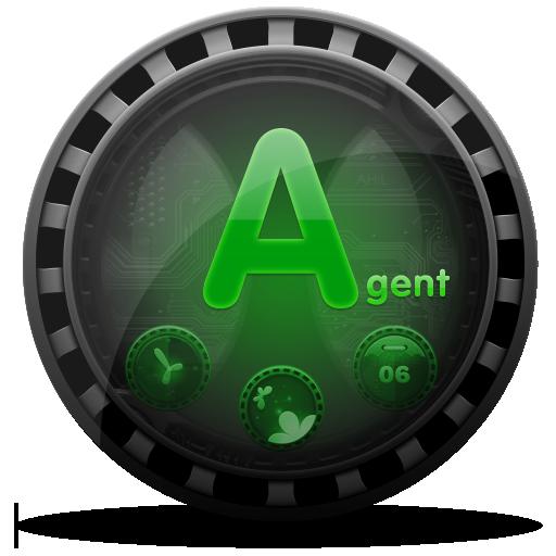 (FREE) Agent GO Launcher Theme LOGO-APP點子
