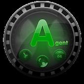(FREE) Agent GO Launcher Theme