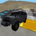 4x4 Driving SUVs Off-Road icon