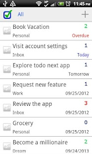 ToDo Next Task & To Do List - screenshot thumbnail