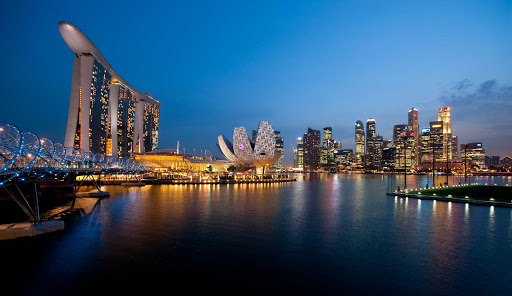 Rhapsody-of-the-Seas-SIngapore - Visit beautiful Singapore when you cruise Southeast Asia on Rhapsody of the Seas.