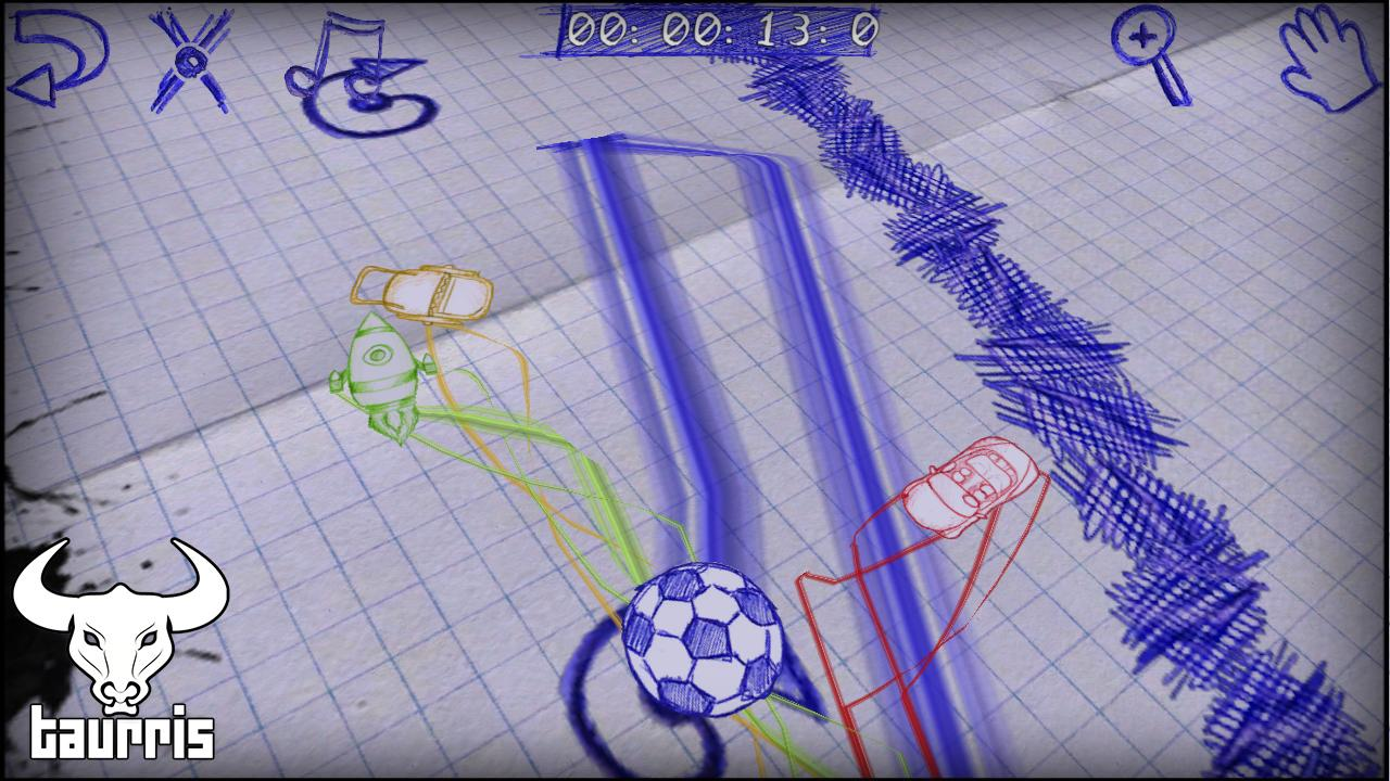 Paper Racing Cars- screenshot