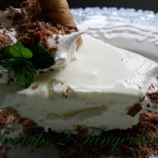 Fluffy Frozen Grasshopper Pie.