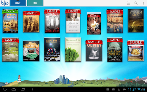 T-Mobile eReader - screenshot thumbnail
