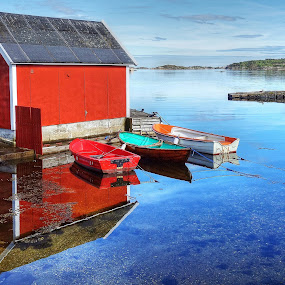 Calm water... by Roger Gulle Gullesen - Buildings & Architecture Other Exteriors