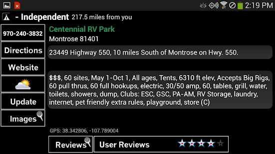 Camp and RV - Campgrounds Plus - screenshot thumbnail