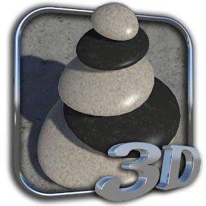 3D Zen Stones Live Wallpaper 個人化 App LOGO-APP試玩