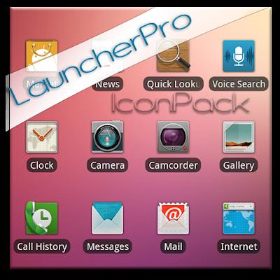 Blurred LauncherPro Icon Pack