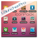 Blurred LauncherPro Icon Pack logo
