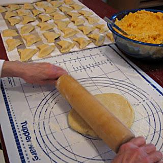 Potato-Cheese Perogies.