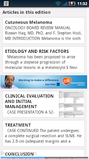 Oncology Board Review - screenshot thumbnail