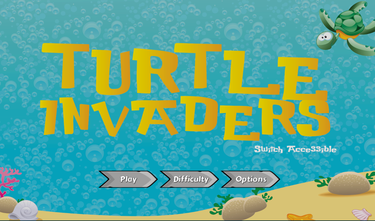Turtle Invaders- screenshot