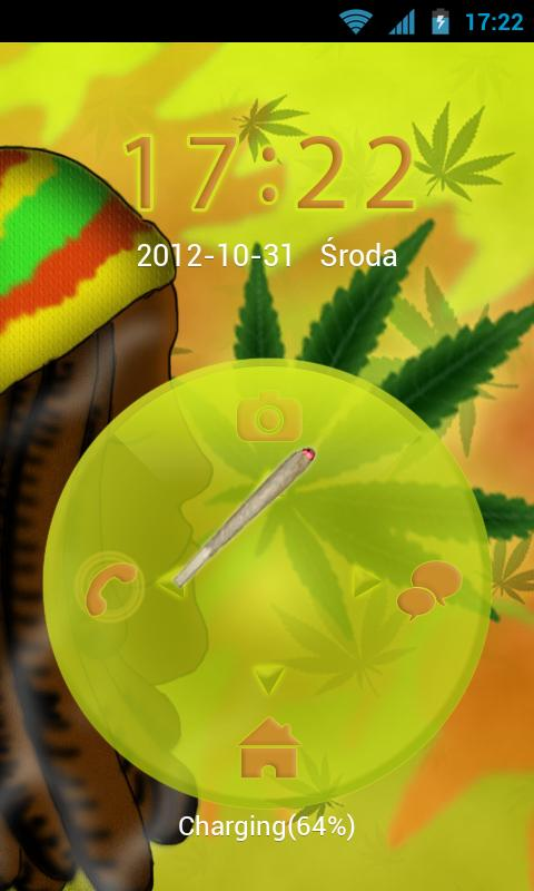 GO Locker Theme Rasta - screenshot