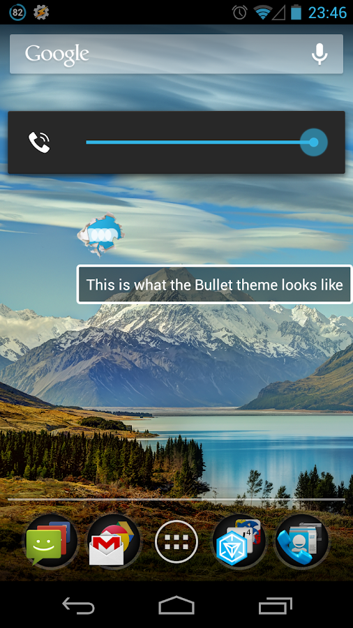 Bullet - FN Theme- screenshot