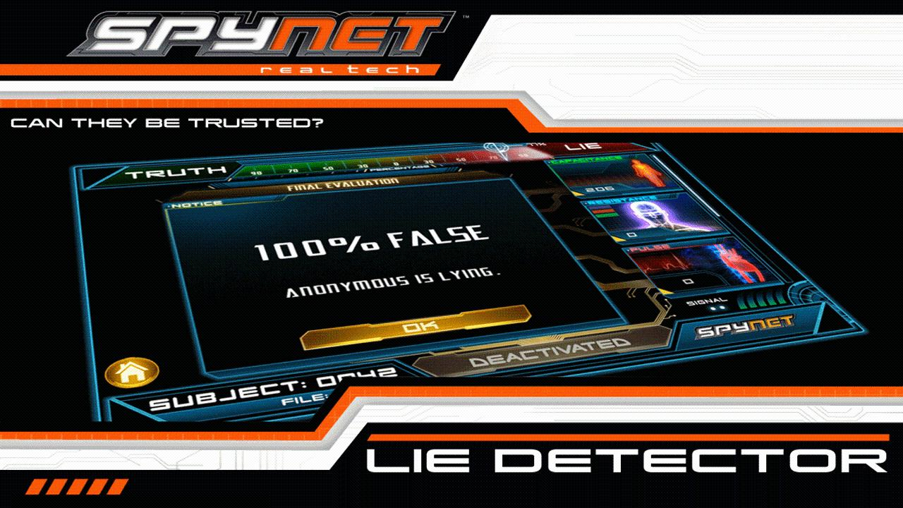 Spy Net Lie Detector- screenshot