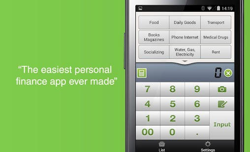 Quick Money Recorder -Spending- screenshot thumbnail
