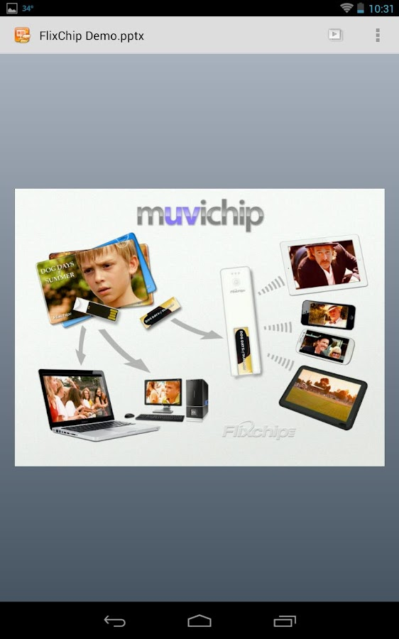 FlixChip Player - screenshot