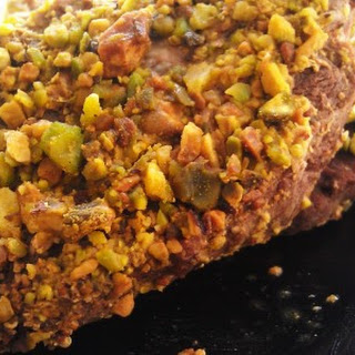 Honey Dijon Pistachio Encrusted Steak