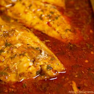 Spicy Cajun Cod.