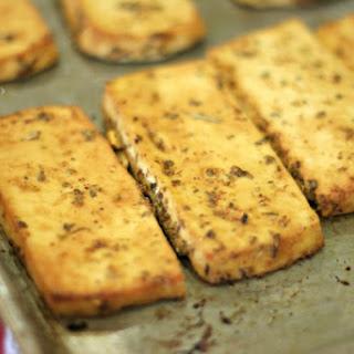 Lemon Garlic Tofu