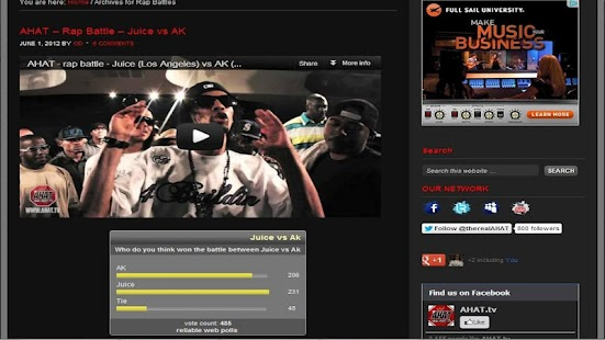 AHAT Rap Battles - screenshot thumbnail