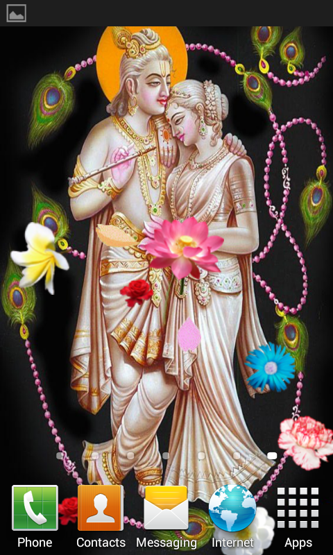 Radha Krishna Live Wallpaper Android Apps On Google Play