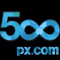 com 500px logo