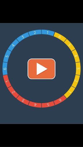 Flat design game : CircleDots