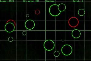 Screenshot of SpeedClick - a reflex game
