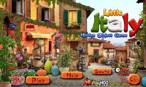Little Italy - Hidden Objects